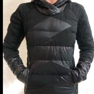 Lululemon Black Puffer Pullover
